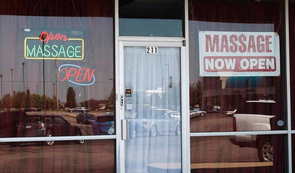 This massage parlor was one of several that were under investigation in 2010. The city of Wichita will consider licensing massage businesses in an effort to help crack down on human trafficking. File photo Eagle file photo