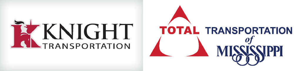 Thank you Knight Transportation and Total Transportation of Mississippi for hauling the Freedom Drivers Project!