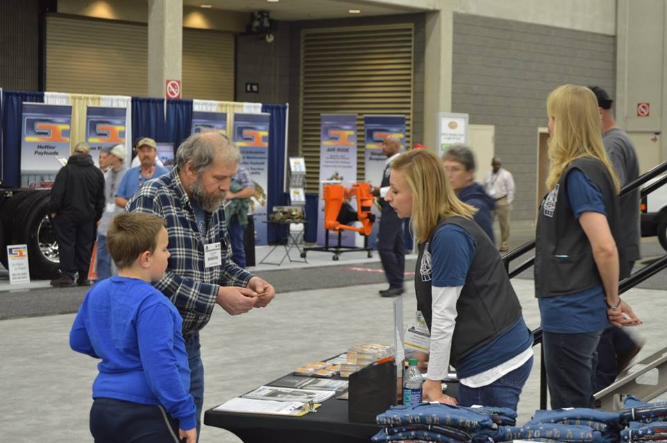 Many MATS participants stopped by and picked up TAT materials.