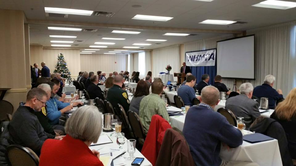 The New Hampshire Motor Truck Association annual conference where TAT presented