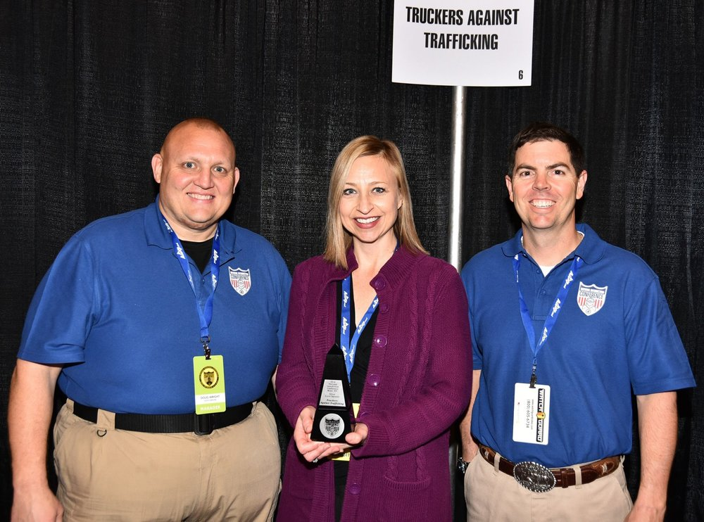 TAT Deputy Director, Kylla Lanier, at the National Interdiction conference