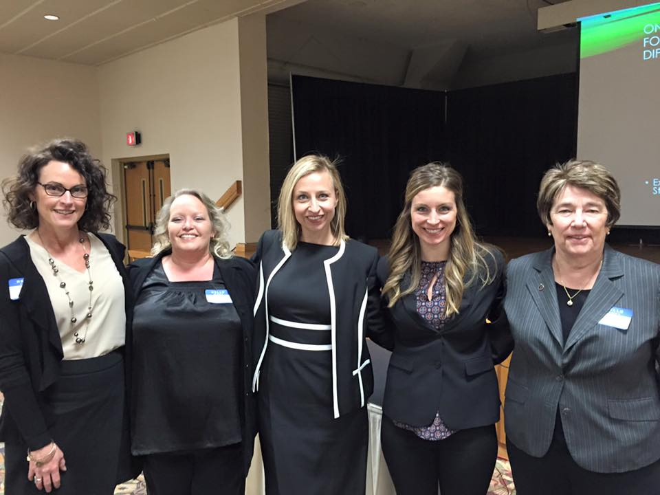 Jennifer Rapp, Office of the KS Attorney General, Beth Jacobs, TAT Field Trainer, Kylla Lanier, TAT Deputy Director, Esther Goetsch, TAT Coalition Builds Specialist, Pat Colloton, Office of the KS Attorney General.