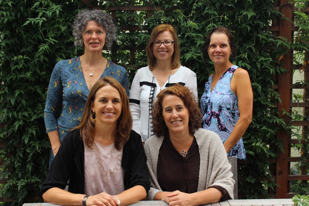 Members of the Change A Path Advisory Board are (from left to right): Front Row: Jen Cavenaugh, Shannon Rogers; back row: Julie Caskey, Ruth Siegmund, Monica Gyulai