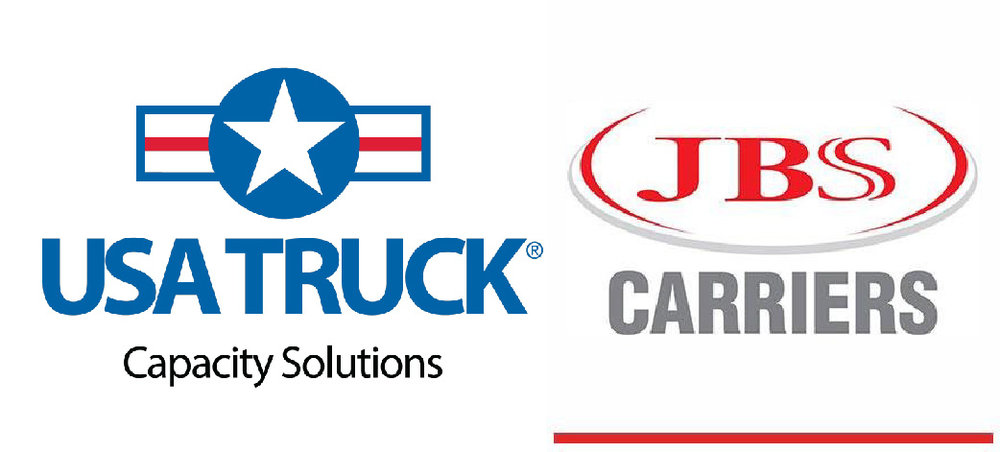 Thank you USA Truck and JBS Carriers for hauling the Freedom Drivers Project!