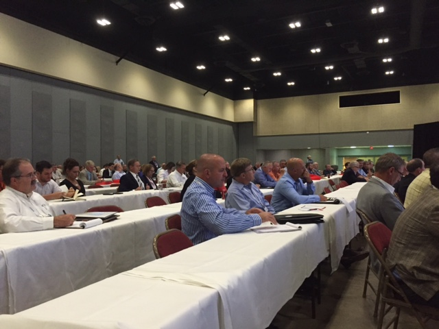 Over 250 associate members attended the cvsa meeting.