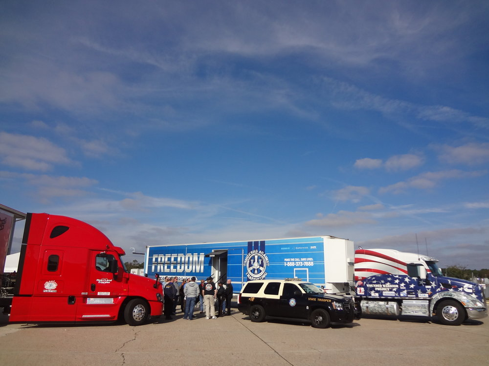 The FDP enjoyed lots of sunshine for the Heartland Express Driver Appreciation event in Florida.