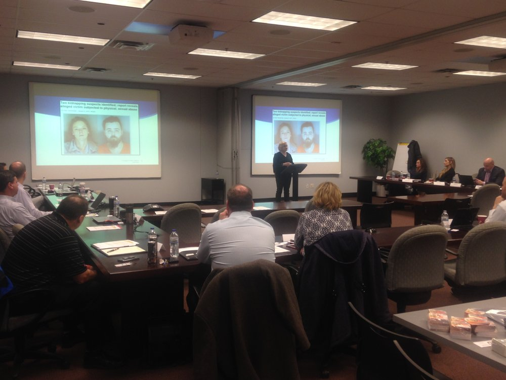 TAT's Laura Cyrus presented at the XPO Logistics Carrier Safety and Operations meetings.