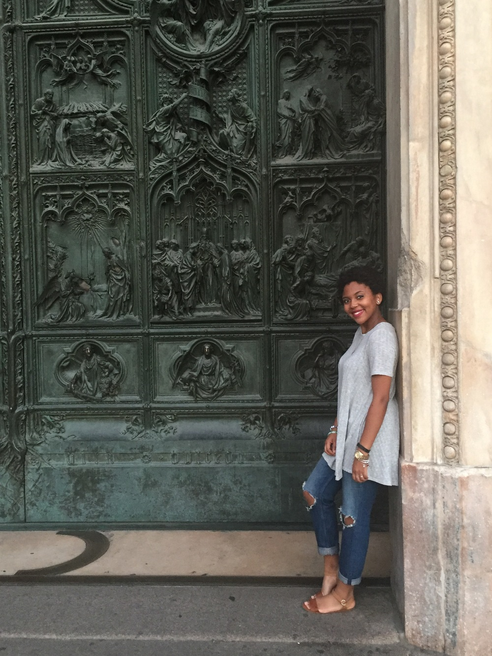 Obligatory, 'I have a thing with doors' Duomo door shot