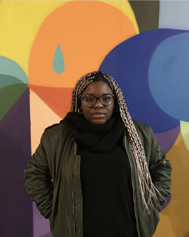 """I'm Malika Mutombo and I'm a 19 year old upcoming Belgian artist. I was born and raised in Belgium. but I am of Congolese descent. I studied illustration for a year, but there are high chances that I'll change universities and study computer graphics with 2D illustration, animation and graphic design as options next year."""