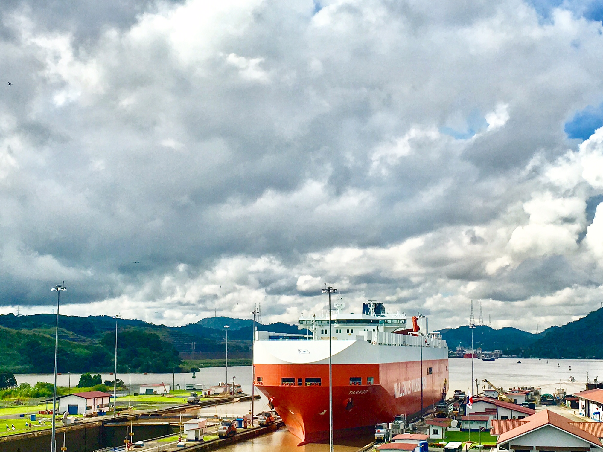 Views from the Panama Canal