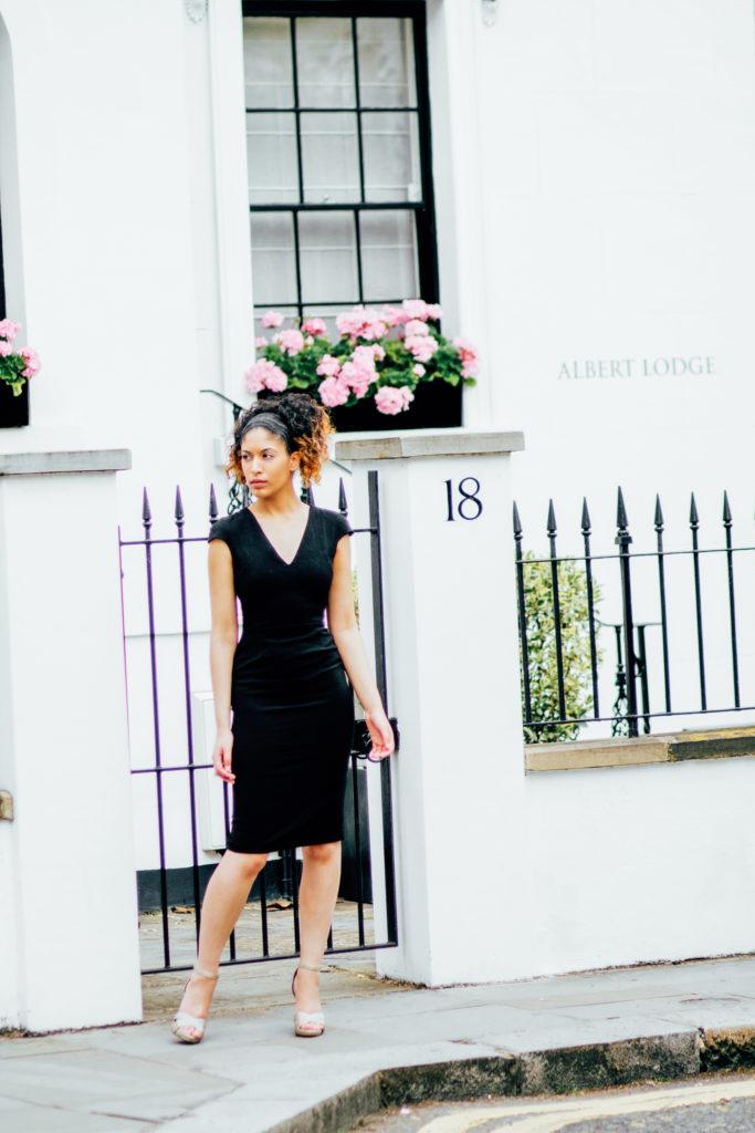 Phoebe Parke black dress sideways look.jpg