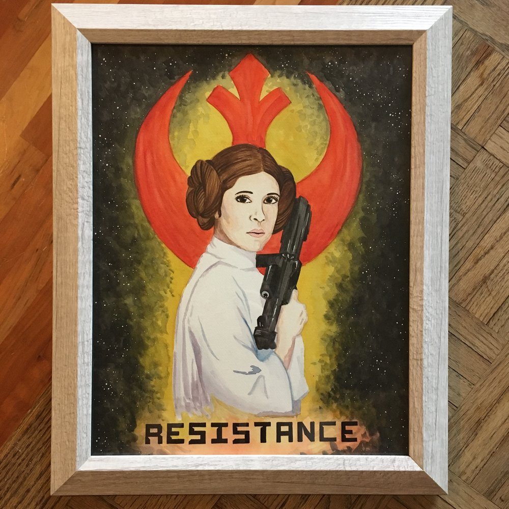 """""""Resistance""""  11x14in Print"""