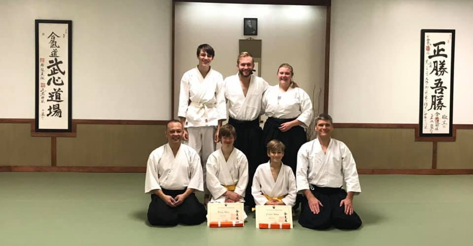 young aikido martial artists Nashville TN