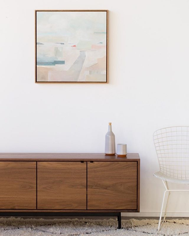 Photo shoot done. It's taco-thirty at #hedgehousehq The Nelson credenza in solid walnut and steel