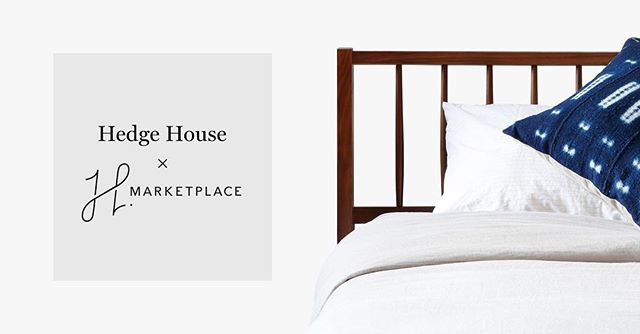 Today is the day! We're excited to help announce the launch of @hmarketplace! Check out their curated selection of home decor and furniture now. Brought to you by @homepolish
