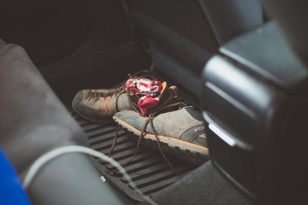 Hiking Mt Baker