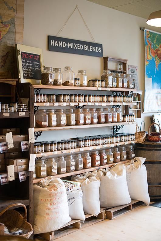 oaktown spice shop.