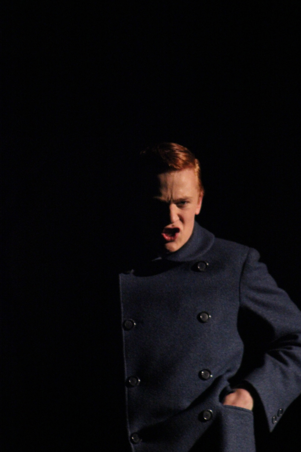 as Moritz in  Spring Awakening  theater UCLA (2013)  photo: Gwenna McKee