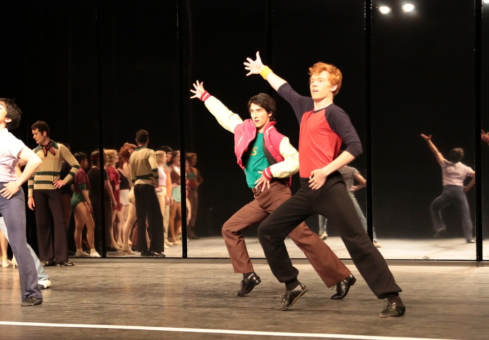 as Roy in  A Chorus Line  theater UCLA (2012)