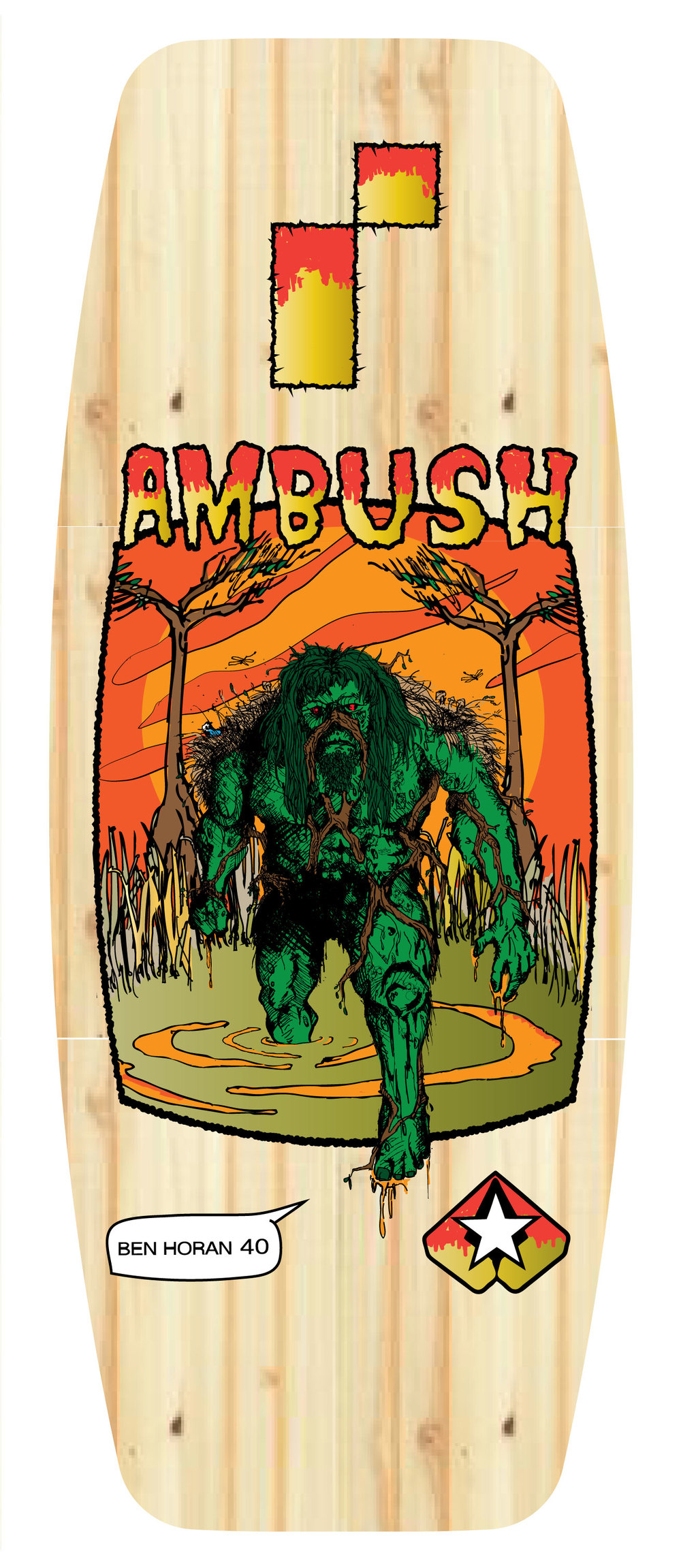 Ambush board co/ REMOTE