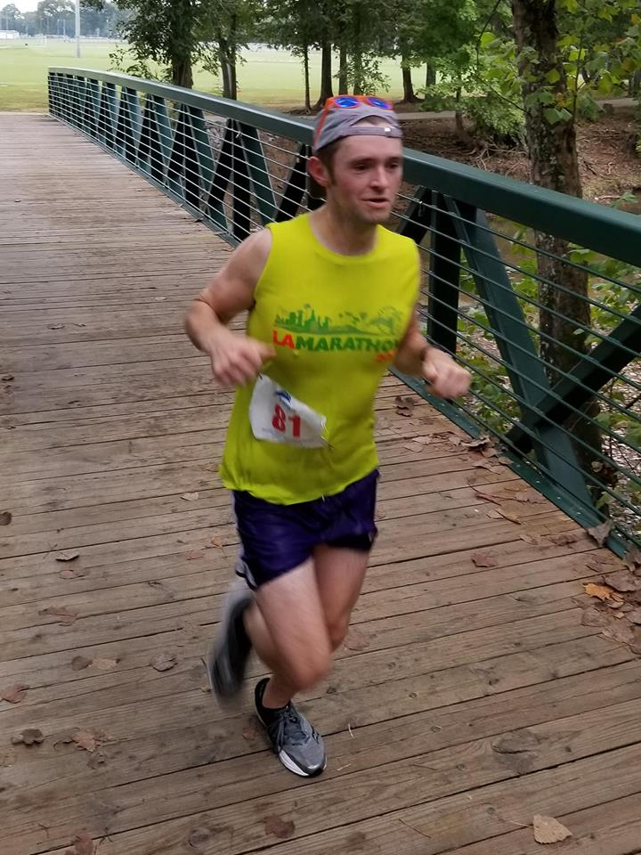 Tom at the Hendersonville Half