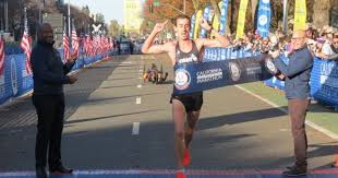Brogan Austin, one of Tinman's athletes, won the US Marathon Championships last December