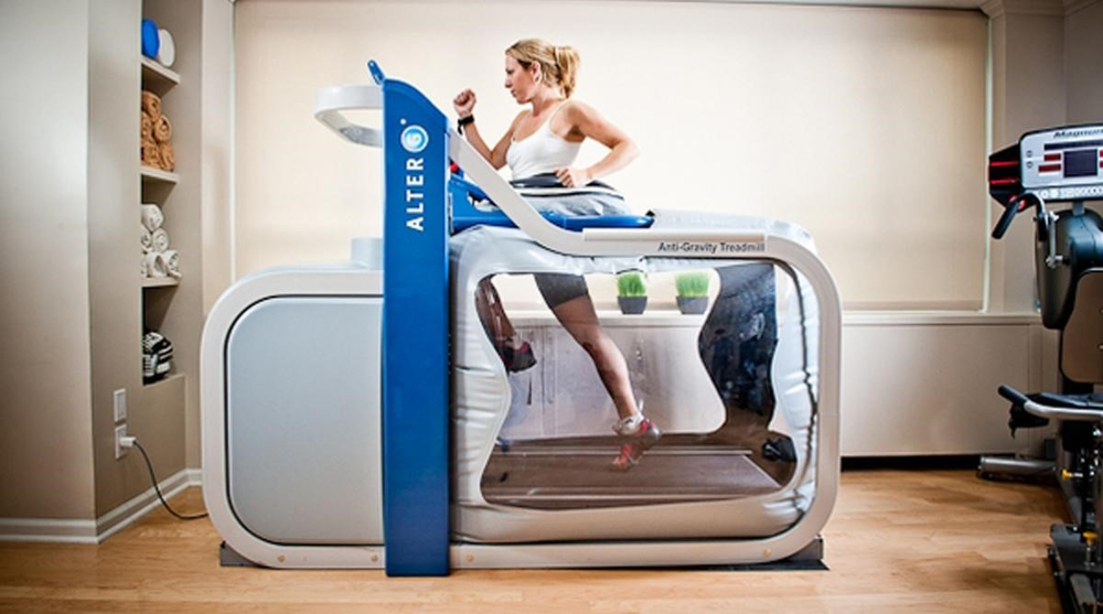 Here's what an Alter G looks like.
