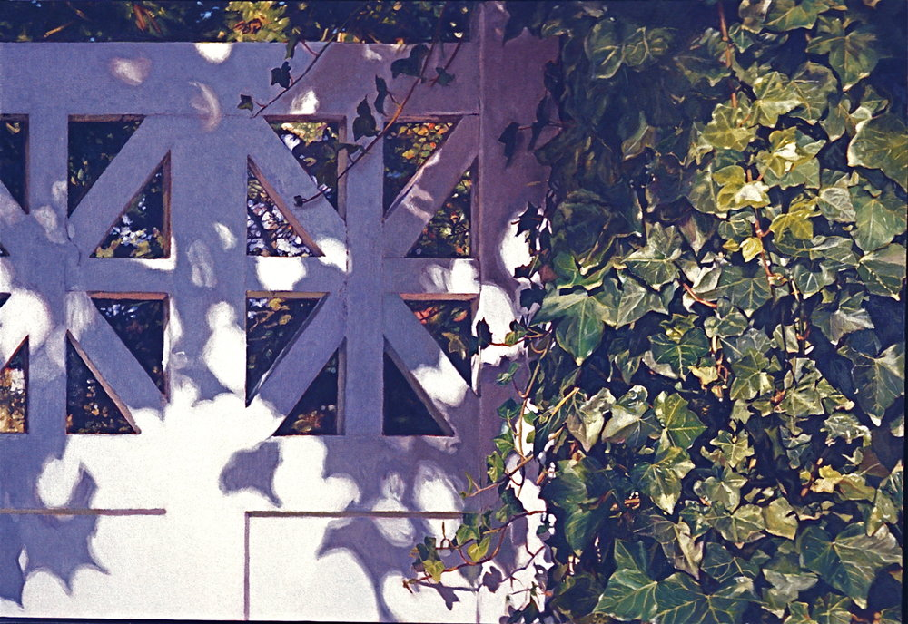 Gate with Ivy