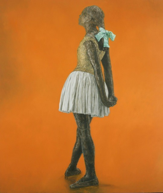 Little Fourteen-Year-Old Dancer on Tangerine