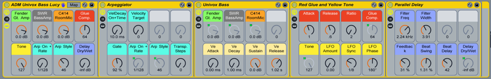 ADM Univox Bass Rack