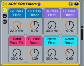 EQ8 Filters