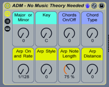 ableton no music theory rack
