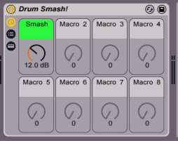 Smash your drums with one knob!