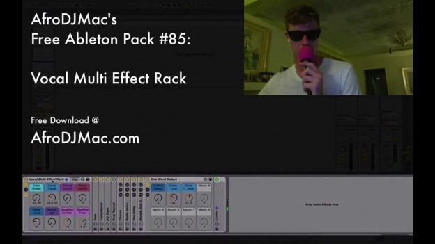 Free Ableton Live Pack #85: Vocal Multi FX