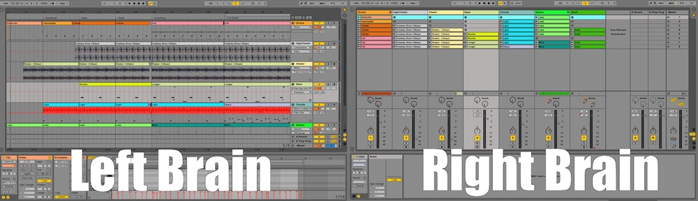 Ableton AfroDJMac Left Brain Right Brain Creative Creativity