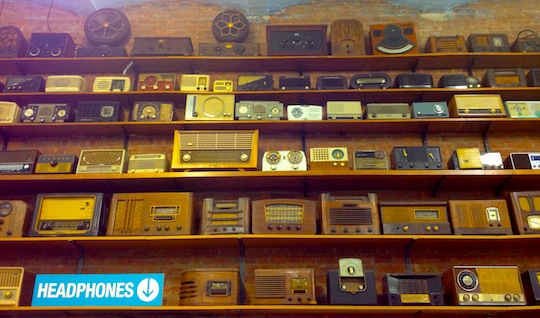 TekServe's collection of cool vintage radios