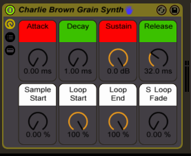 charlie brown christmas synth afrodjmac ableton