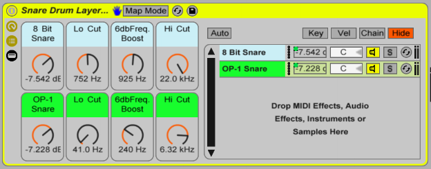 Ableton Drum Layer