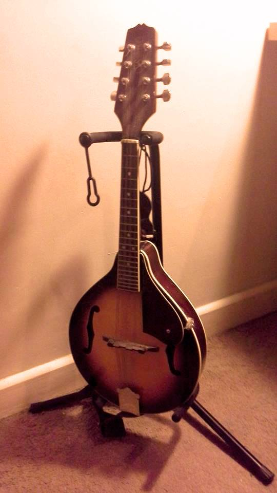 Callum Stewart's Mandolin, that was sampled for this Ableton Live Instrument
