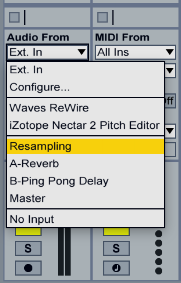 Live's Resampling Feature
