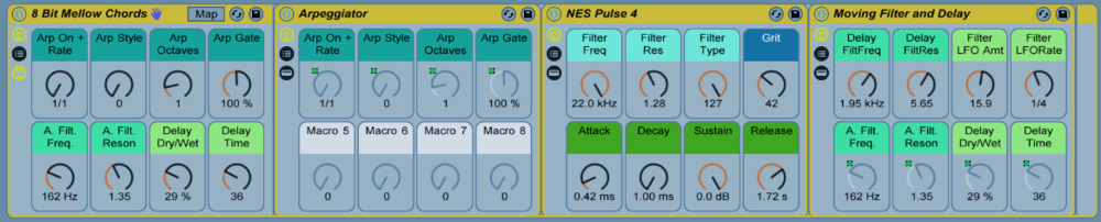 There are plenty of Macro Controls to customize the instrument to fit your music.