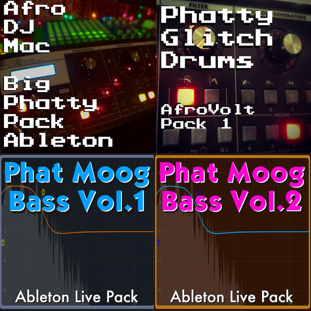 The Moog Collection Ableton Live Packs — AfroDJMac