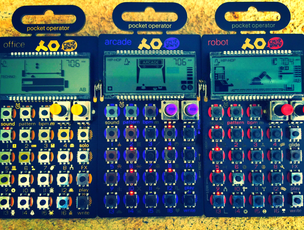 Sample Ninjas' Pocket Operators