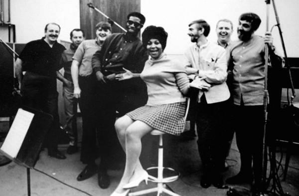 Aretha Franklin at Muscle Shoals