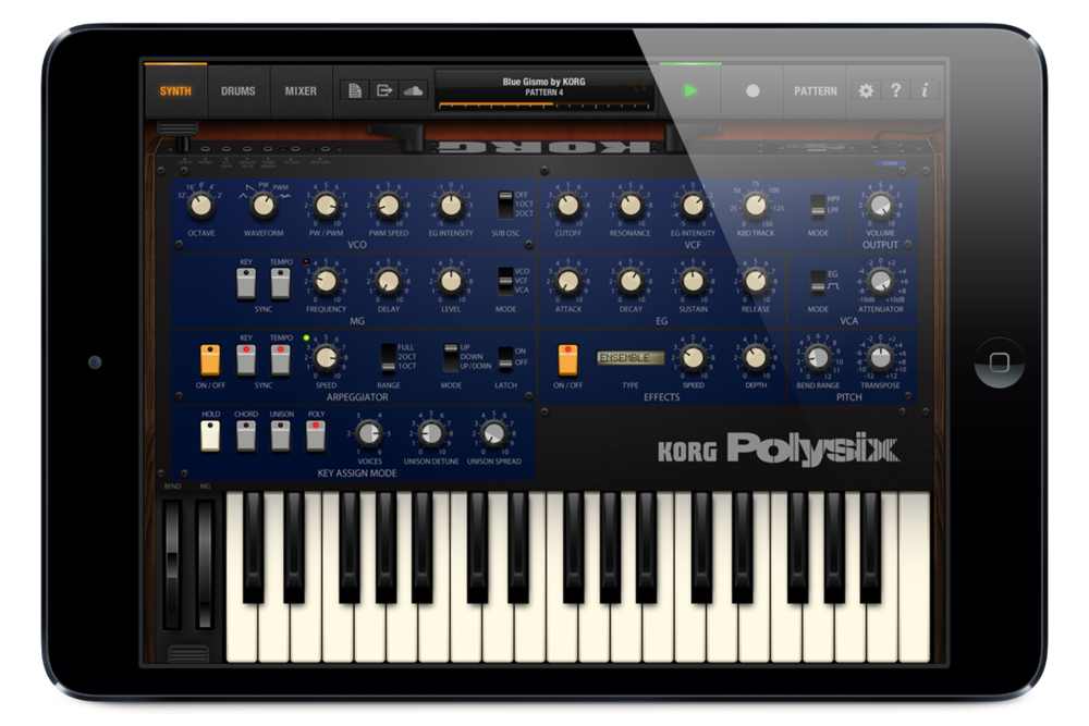 Korg iPolySix is an awesome sounding emulation of a classic!