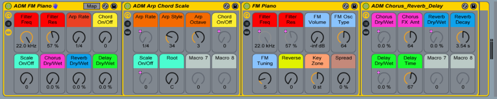 The Vinyl FM Piano is one of the instruments built during the course. Download it for free!