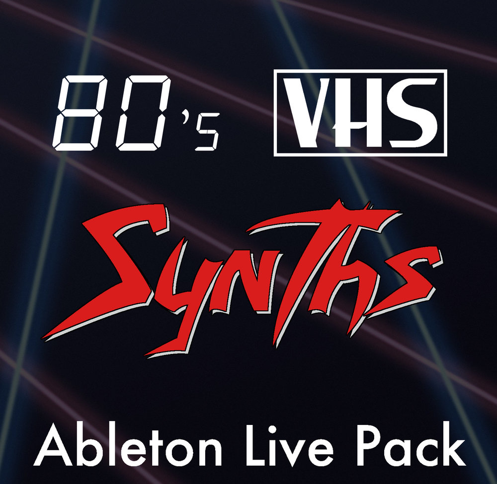 80's VHS Synths Ableton Live Pack Classic synthesizers recorded to VHS tape and sampled into Ableton Live. A collection of 58 vintage, 80's style Ableton Live Instrument Racks.