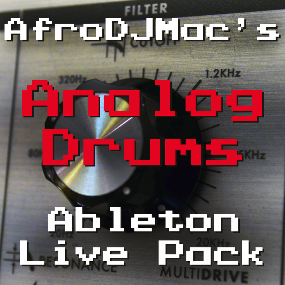 Analog Drums Ableton Live Pack Drums with bite! 489 drum samples were recorded into an overdriven classic Moog analog filter. Classic samples with character, organized into 20 Ableton Live Drum Racks.