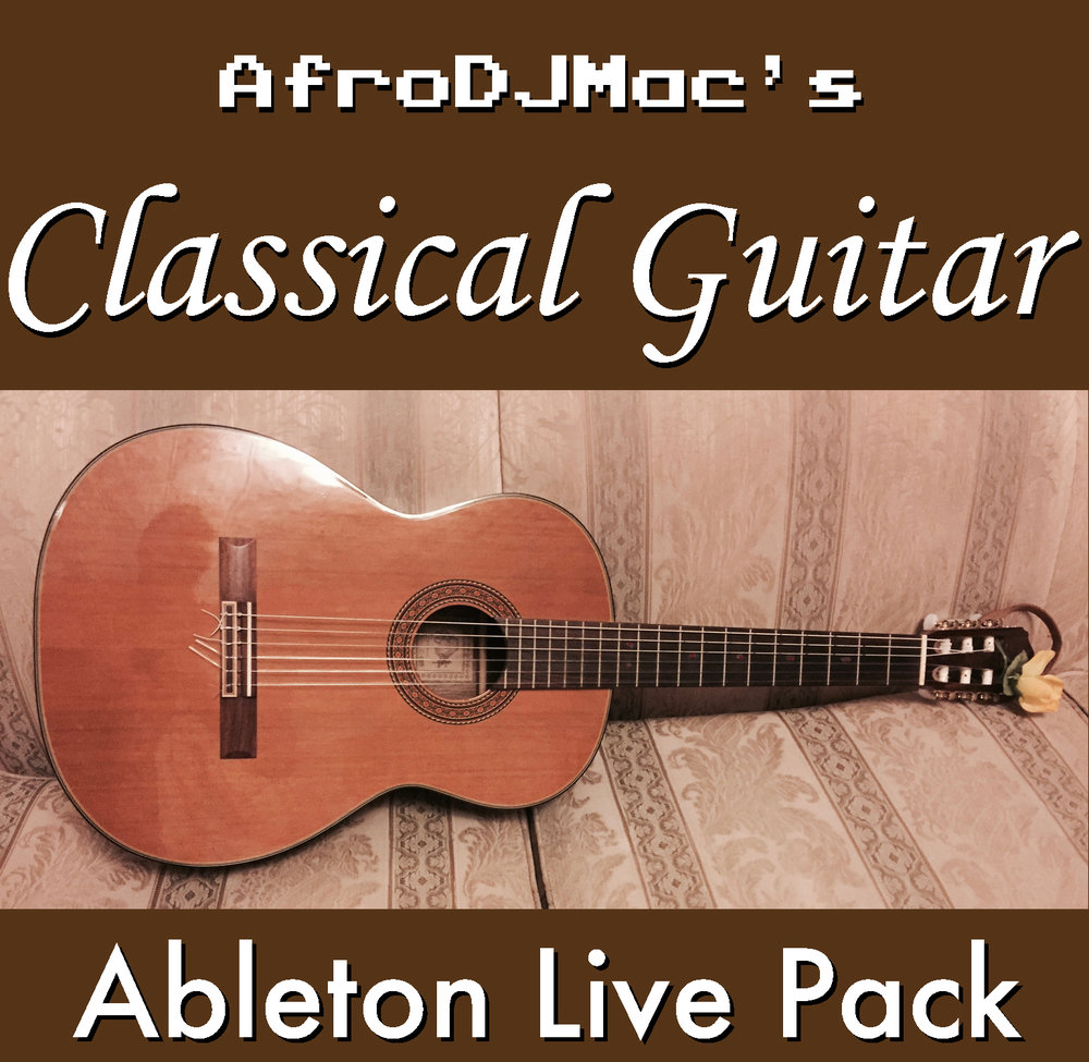 Classical Guitar Ableton Live Pack   Extremely realistic nylon-string guitar Ableton Live Instruments. Detailed and dynamic to capture the nuances of the real instrument, down to the finger noises.