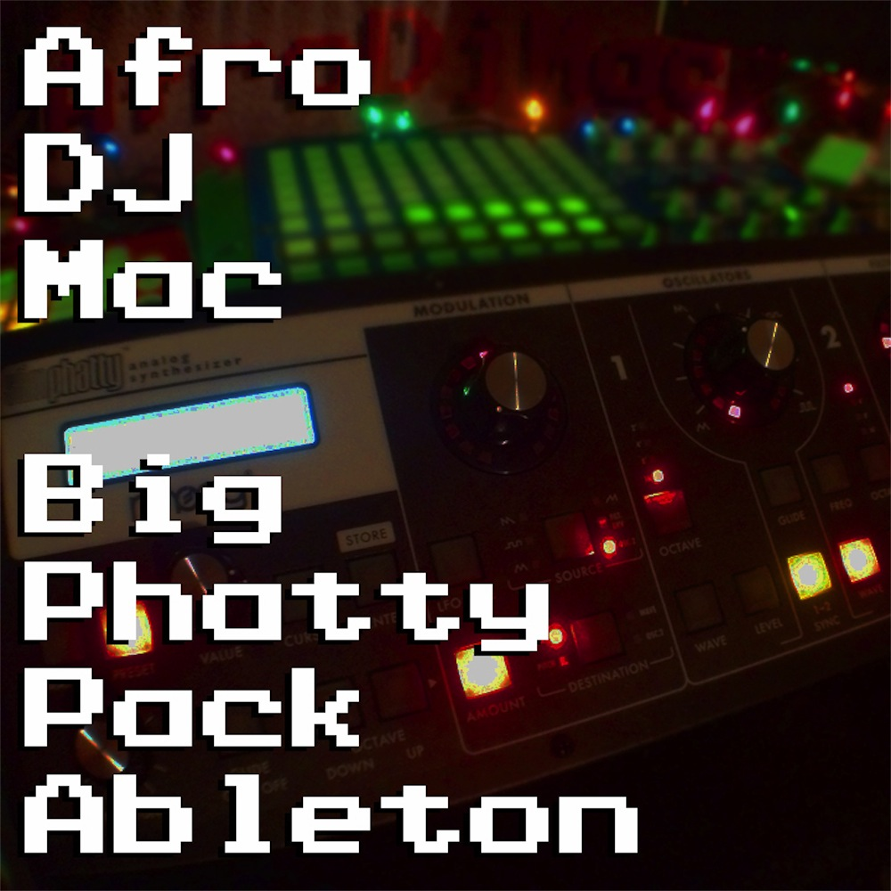 Moog Big Phatty Ableton Live Pack The Moog Slim Phatty meets Ableton Live for a wide range of sounds impossible on the original hardware. A collection of  33 Ableton Live Instrument Racks..